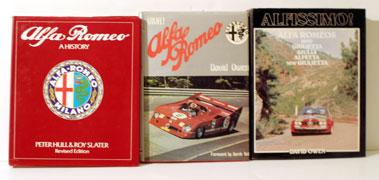 Lot 117-Three Alfa Romeo Books
