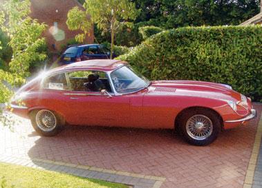 Lot 13-1971 Jaguar E-Type V12 Coupe