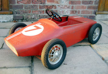 Lot 209-Lotus F1 ChildS Pedal Car