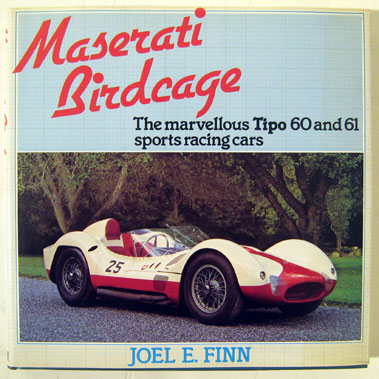 Lot 120-Maserati Birdcage - The Marvellous Tipo 60 & 61 Sports Racing Cars