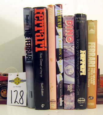 Lot 128-Ferrari Books