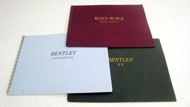 Lot 130-Bentley & Rolls-Royce Catalogues