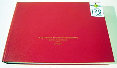 Lot 138-Le Grand Automobile De Monaco. Histoire DUne Le Gende 1929 - 1960