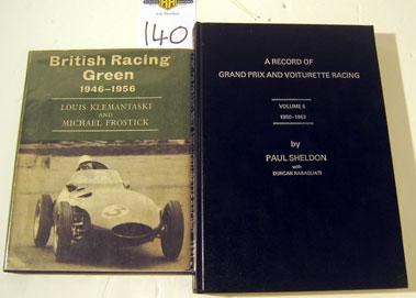 Lot 140-British Racing Green 1946-1956