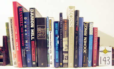 Lot 143-Large Box Of Books On People In Motoring.