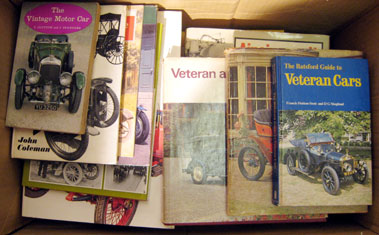 Lot 144-Selection Of Vintage And Veteran Car Books.