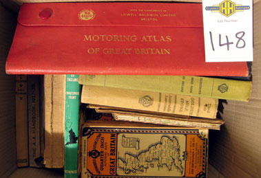 Lot 147-A Quantity Of Early Maps.