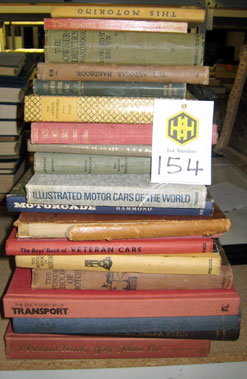 Lot 154-Assorted Early Motoring Books