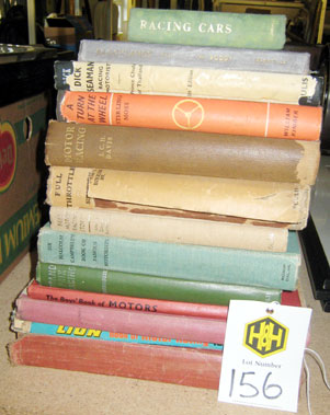 Lot 156-Assorted Early Racing & ChildrenS Literature