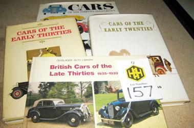 Lot 157-Pre-War Car Related Books