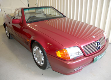 Lot 21-1992 Mercedes-Benz 500 SL