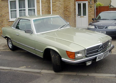 Lot 63-1978 Mercedes-Benz 450 SLC