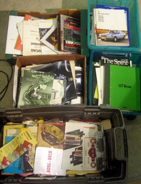 Lot 167-Large Quantity Of Sales Brochures