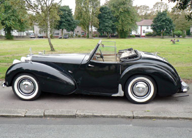 Lot 78-1948 Triumph 1800 Roadster