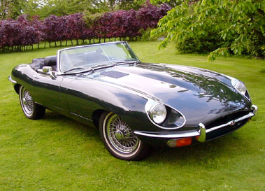Lot 6-1969 Jaguar E-Type 4.2 Roadster