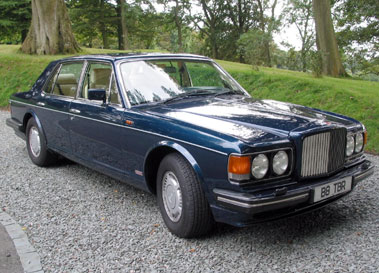 Lot 79-1988 Bentley Turbo R