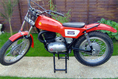Lot 4-1969 Montesa Cota 247