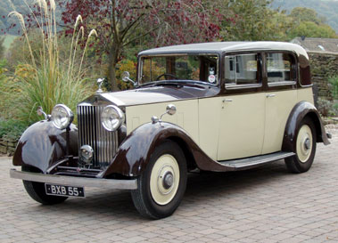 Lot 26-1935 Rolls-Royce 20/25hp Saloon