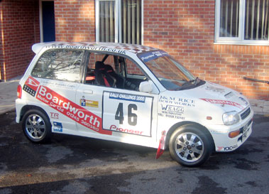 Lot 74-1998 Daihatsu Avanzato Rally Car