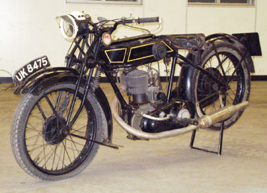 Lot 10-1928 Sunbeam Model 5