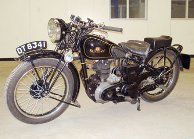Lot 8-1937 Sunbeam Model 14