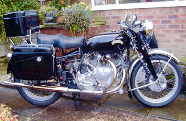 Lot 15-1949 Vincent Rapide Series C