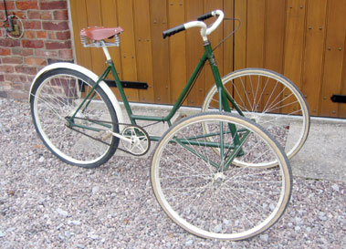Lot 9-Front Steering Tricycle