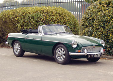 Lot 90-1972 MG B Roadster