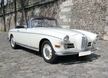 Lot 84-1957 BMW 503 Convertible
