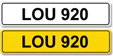 Lot 3-Registration Number LOU 920