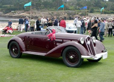 Lot 55-1935 Alfa Romeo 6C 2300 Pescara Spyder