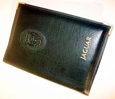 Lot 100-Jaguar Xj6 Document Wallet