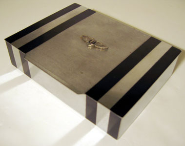 Lot 201-Bentley Badged Cigarette Box