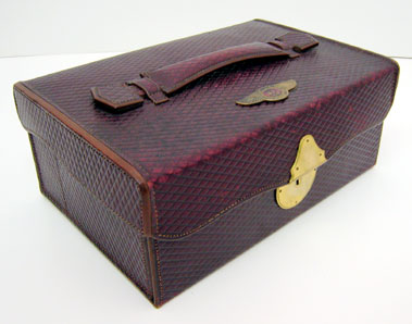 Lot 205-Travelling Vanity Case Suitable For A Vintage Bentley