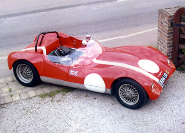 Lot 66-1961/1962 Lazenby Lotus 17 Special