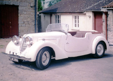 Lot 33-1939 Raymond Mays Special Tourer