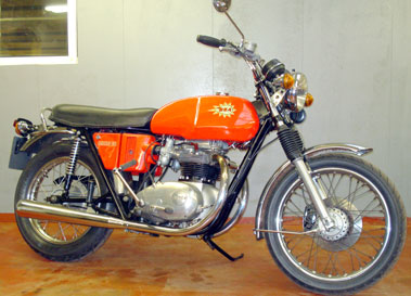 Lot 23-1974 BSA A65 Lightning