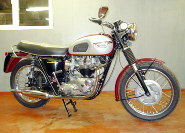 Lot 20-1970 Triumph T120 Bonneville