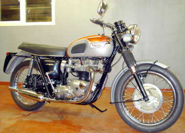 Lot 24-1969 Triumph T120 Bonneville