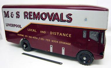Lot 213-M&s Removals Marsden Van Model
