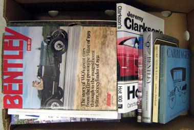 Lot 104-Assorted Motoring Related Books