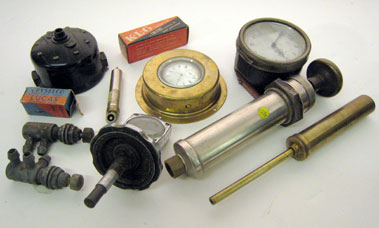 Lot 217-Assorted Mechanical Related Automobilia