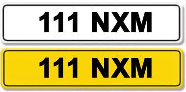 Lot 6-Registration Number 111 NXM