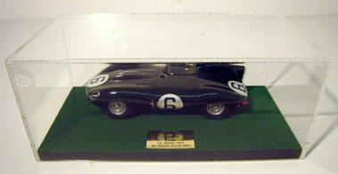 Lot 228-Jaguar D-Type 1:20 Scale Model