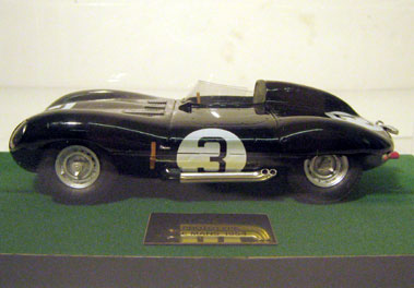 Lot 232-Jaguar D-Type Prototype 1:20 Scale Model