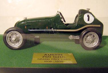 Lot 234-Austin 750cc O.H.V. Grand Prix Car 1:20 Scale Model