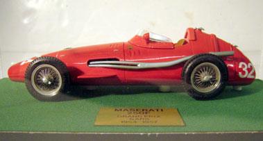 Lot 235-Maserati 250f 1:20 Scale Model