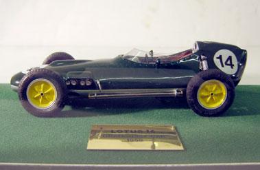 Lot 236-Lotus 16 1:20 Scale Model