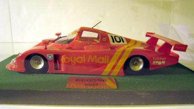 Lot 238-Ecosse Royal Mail Le Mans Car 1:20 Scale Model