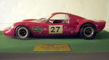 Lot 240-Chevron B8 1:20 Scale Model